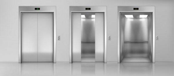 Cửa thang máy bị hở A, V, H
